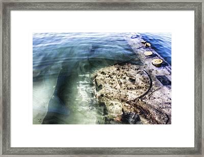 Uss Arizona Memorial- Pearl Harbor V8 Framed Print