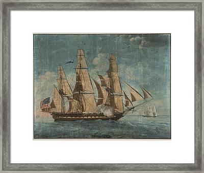 Uss Constitution 1803 Framed Print