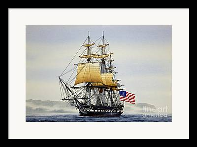 Tall Ships Framed Prints