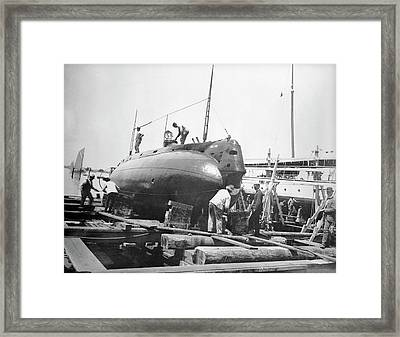 Uss Holland Submarine Framed Print
