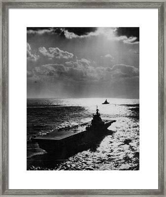 U.s.s. Philippine Sea Framed Print