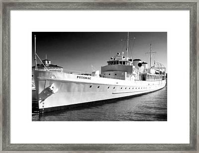 Uss Potomac Framed Print
