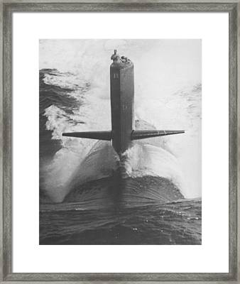 U.s.s. Scamp Framed Print by Retro Images Archive