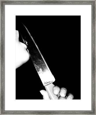 Usus Pervesus Framed Print by Chris Amezquita