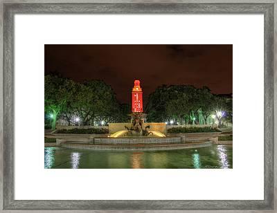 Ut Tower 12 Framed Print