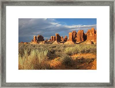 Utah 1 Framed Print