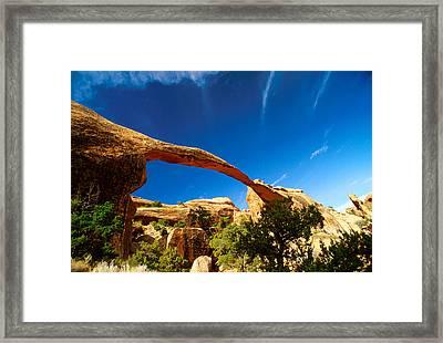 Utah Arches National Park  Framed Print