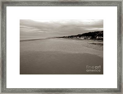 Utah Beach Framed Print by Olivier Le Queinec