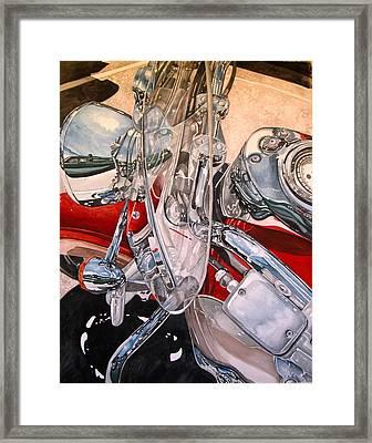 Utah Chrome Framed Print by Lance Wurst