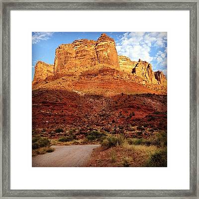 Utah In July Framed Print