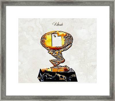 Utah Golden Globe Framed Print by Brian Reaves