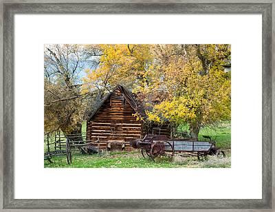 Utah Homestead Framed Print