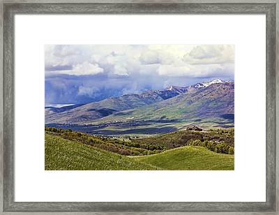 Utah Framed Print by Lisa Alex