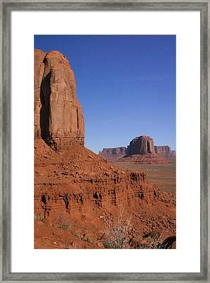 Utah Scenery Framed Print by Diane Bohna