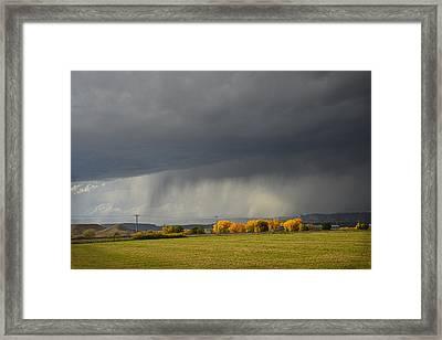 Utah Storm - 2 Framed Print