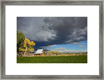 Utah Storm 2 Framed Print