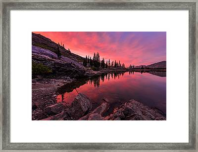 Utah's Cecret Framed Print by Chad Dutson