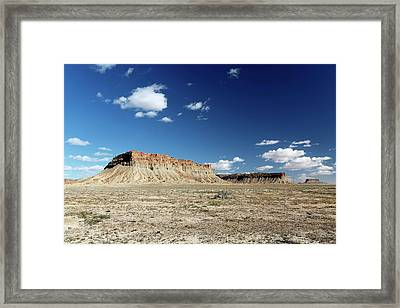 Ute Mountain Reservation Framed Print by Michael Szoenyi