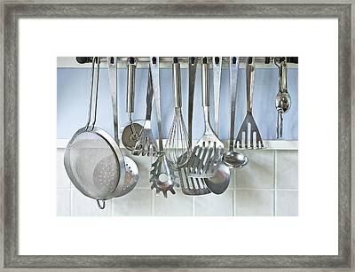 Utensils Framed Print