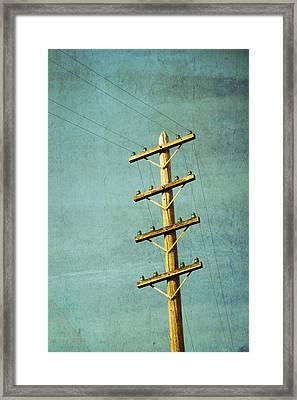 Utilitarian Framed Print by Melanie Alexandra Price