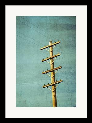 Poles Framed Prints