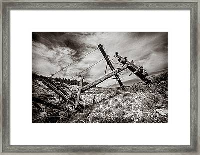 Quartz Mountain 26 Framed Print by YoPedro