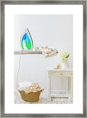 Utility Room Framed Print by Amanda Elwell