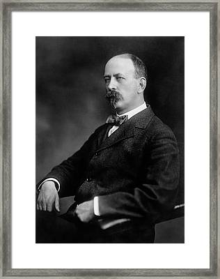 Utley Wedge Framed Print by Williams Haynes Portrait Collection, Chemists� Club Archives/chemical Heritage Foundation