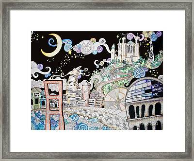 Utopia Framed Print by Devan Gregori