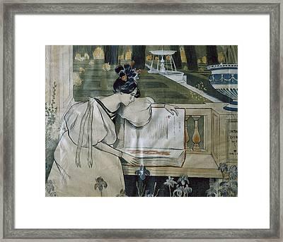 Utrillo, Miquel 1862-1934. Fulls De La Framed Print by Everett