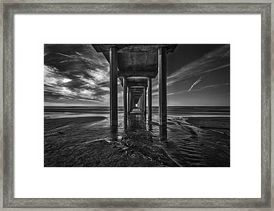 Uttered Madness Framed Print by Peter Tellone