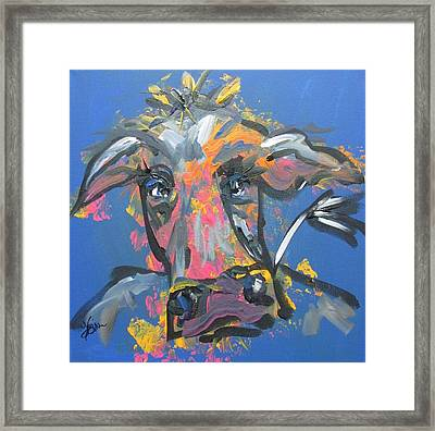 Utterly Funky Framed Print by Terri Einer