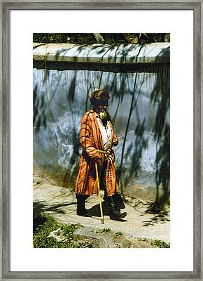 Uzbek  Framed Print by Heiko Koehrer-Wagner