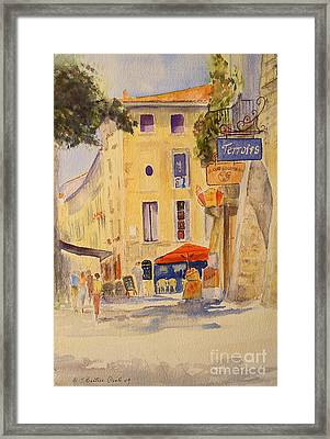 Uzes France Framed Print