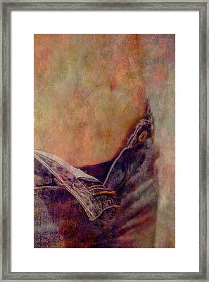 V Jeans Framed Print by Loriental Photography