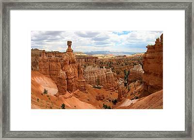 Thor's Hammer - Bryce Canyon National Park Framed Print