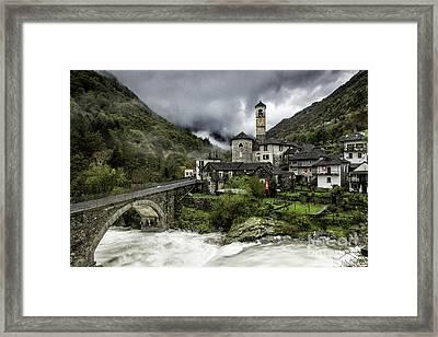Lavertezzo Switzerland Framed Print by Timothy Hacker