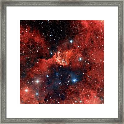 V1318 Cygni Star Cluster Framed Print by Robert Gendler