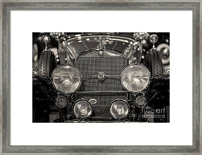 V16 Caddy Framed Print