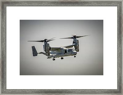 V22 Osprey Framed Print by Bradley Clay