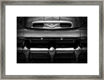 Framed Print featuring the photograph V8 Power by Steven Sparks