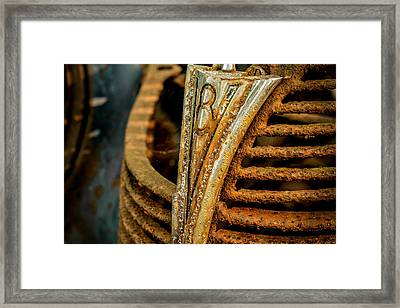 V8 Framed Print by Sara Hudock