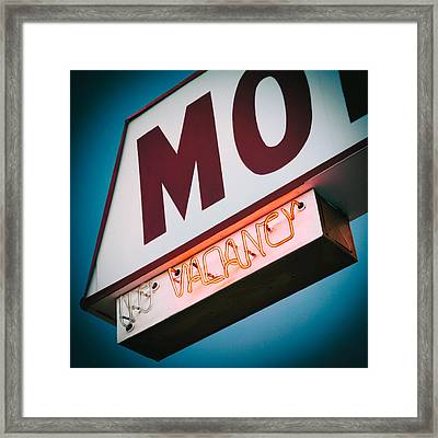 Vacancy Framed Print by Dave Bowman