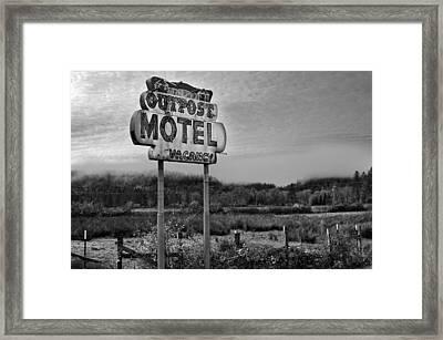 Vacancy Framed Print