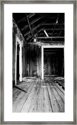 Vacant Framed Print by Cat Connor