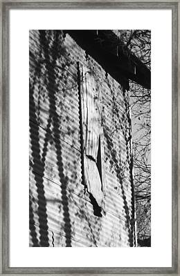 Framed Print featuring the photograph Vacant  by Diane Miller
