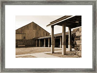 Framed Print featuring the photograph Vacant by Kirt Tisdale
