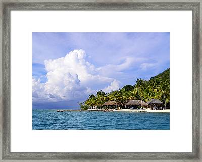 Vacation By The Bay Framed Print by    Michael Glenn