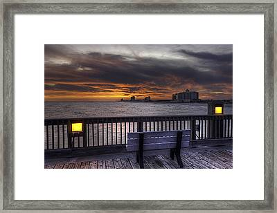 Vacation Is Over Framed Print by Tim Stanley