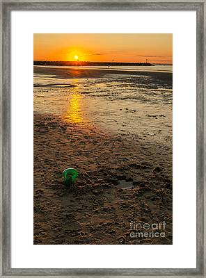 Framed Print featuring the photograph Vacation by Mike Ste Marie